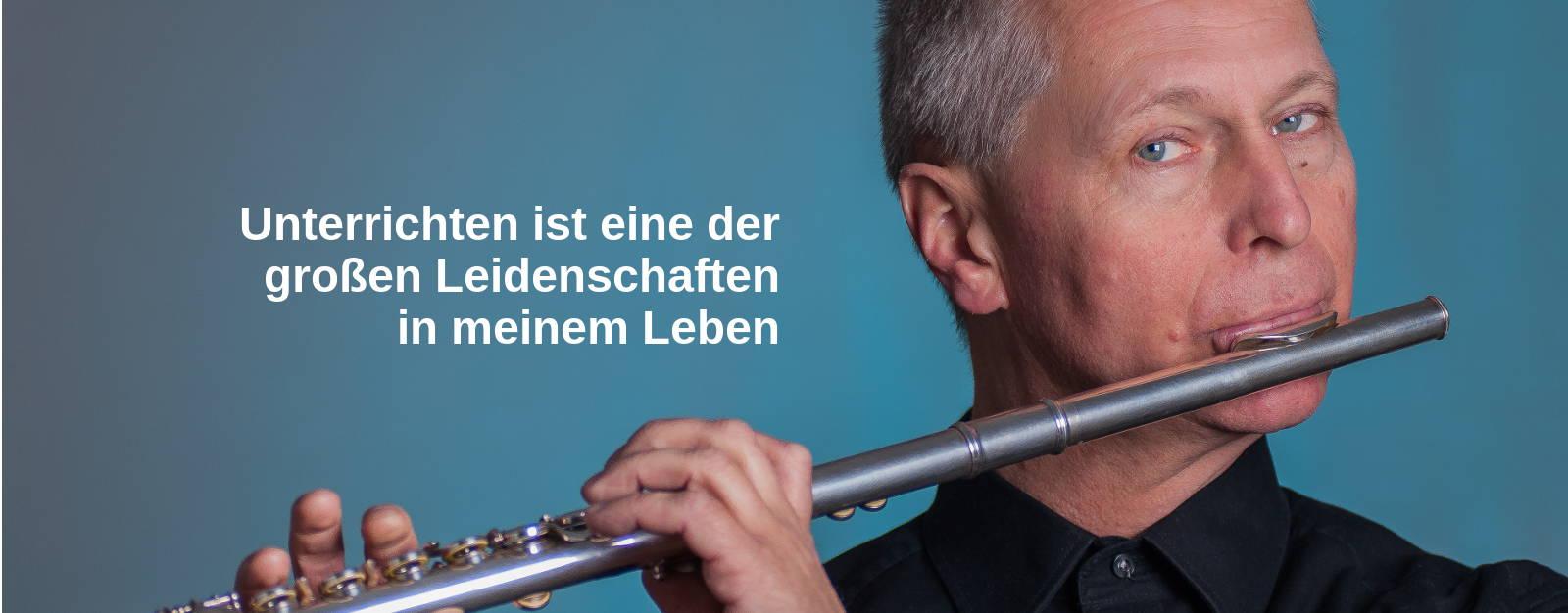 Clemens Prüfer - Querflötenunterricht in Berlin - Foto Emil Hustädt